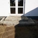 Støttemure og trapper